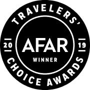 Travelers' Choice Awards 2019 AFAR Winner