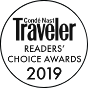 2019 Condé Nast Traveler Readers' Choice Awards