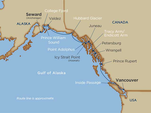 Alaska Glaciers & Prince William Sound