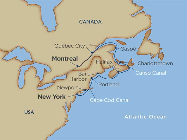 maritimes and manhattan