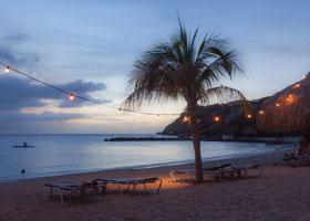 Caribbean Cruise Aerial View