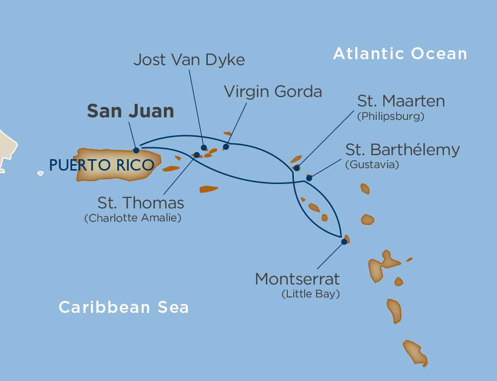 San Juan & the Virgin Islands
