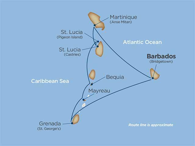 Jewels of the Windward Islands