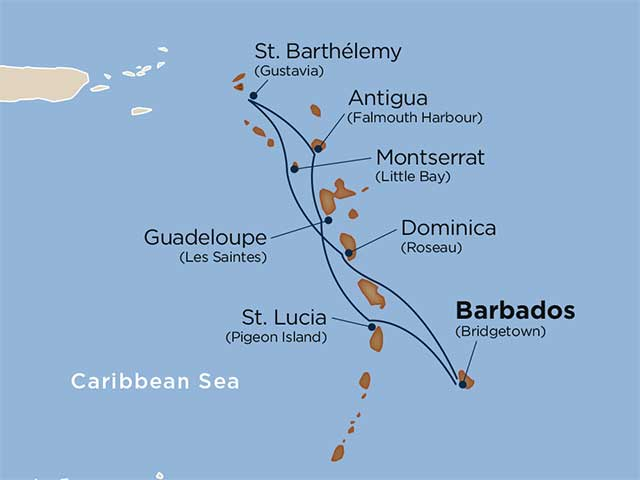 Uncovering the Windward Wonders of the Caribbean