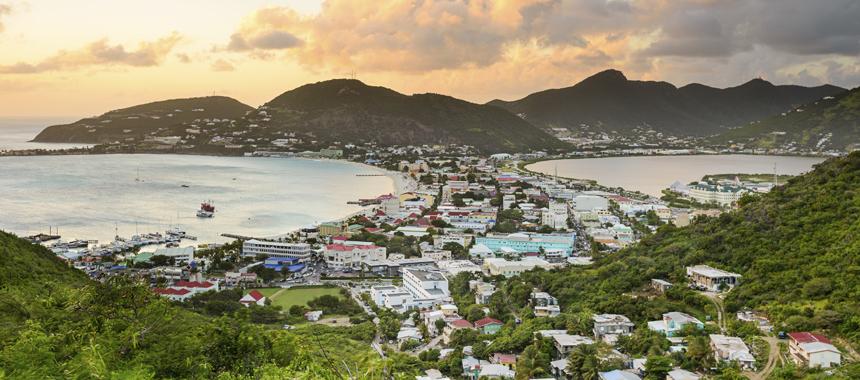Caribbean Cruise Island View