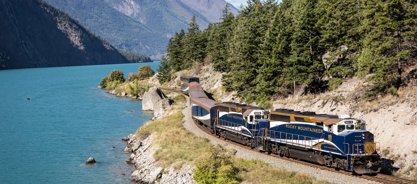 Alaskan Glaciers & Rails to the Rockies Cruise Tour