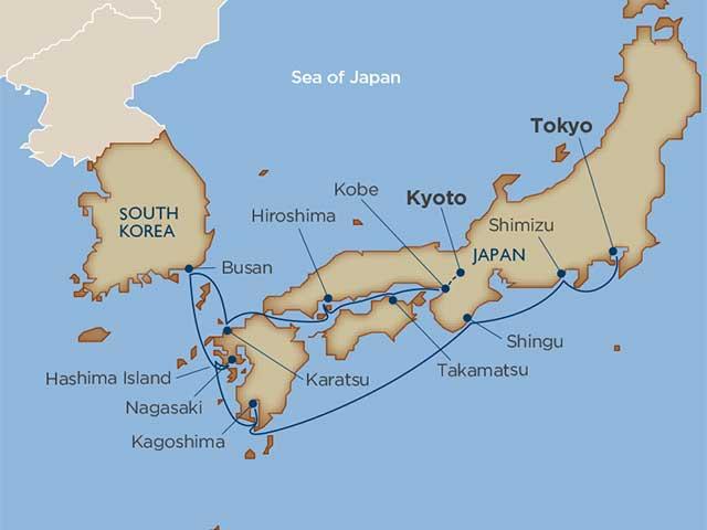 Kyoto & the Zen of Japan Cruise Tour