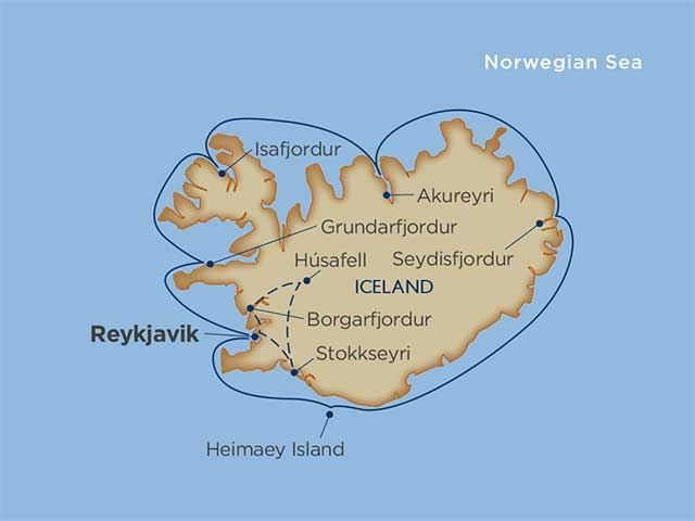 Comprehensive Iceland Cruise Tour