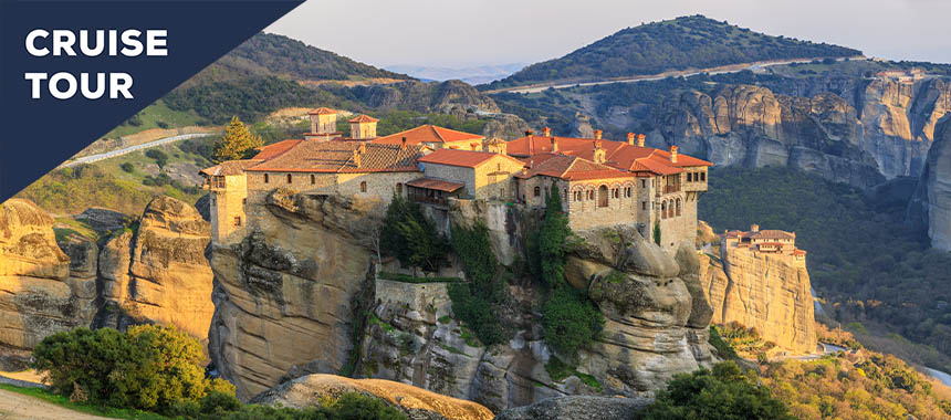Delphi & Meteora: Grecian Treasures Cruise Tour
