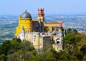 Pena Palace, Cascais,  Lisbon, Portugal