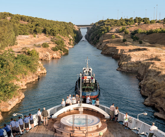 Secrets of Croatia & Greece via the Corinth Canal