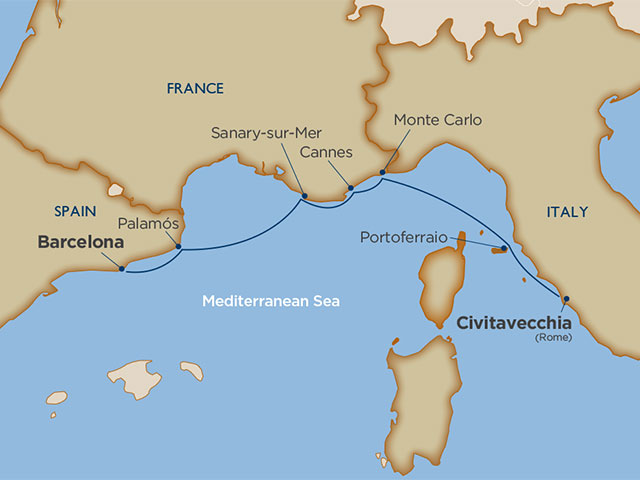 voyage map
