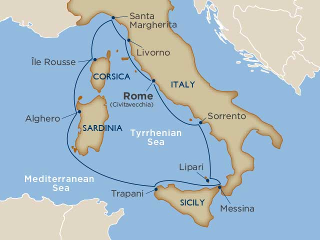 Tuscany & the Tyrrhenian Sea