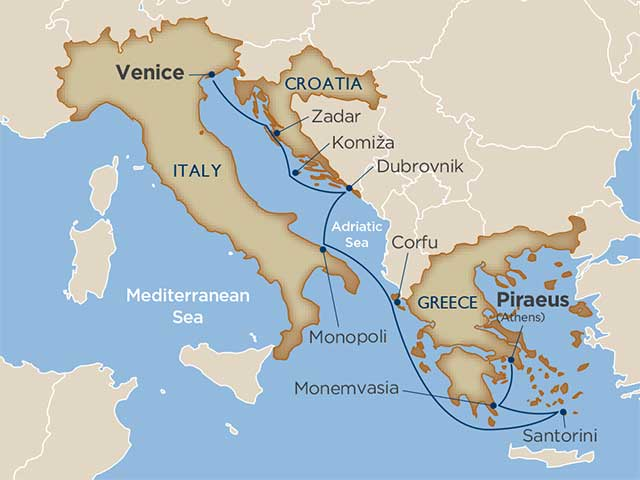 Antiquities of the Adriatic & Greece