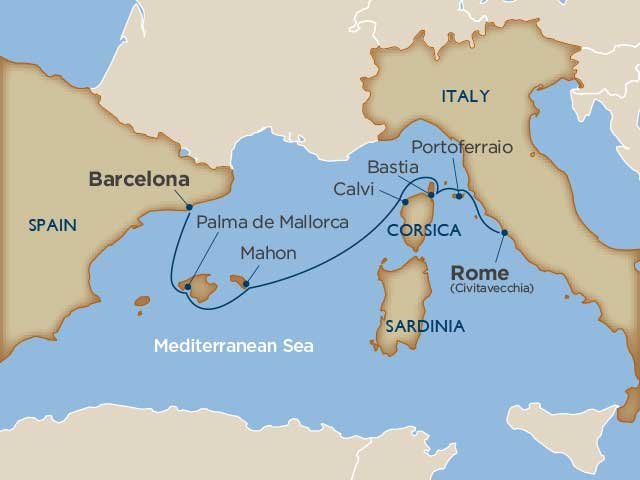 Image result for mediterranean islands map