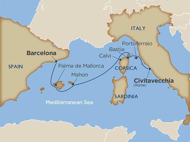 Mediterranean Island Mosaic