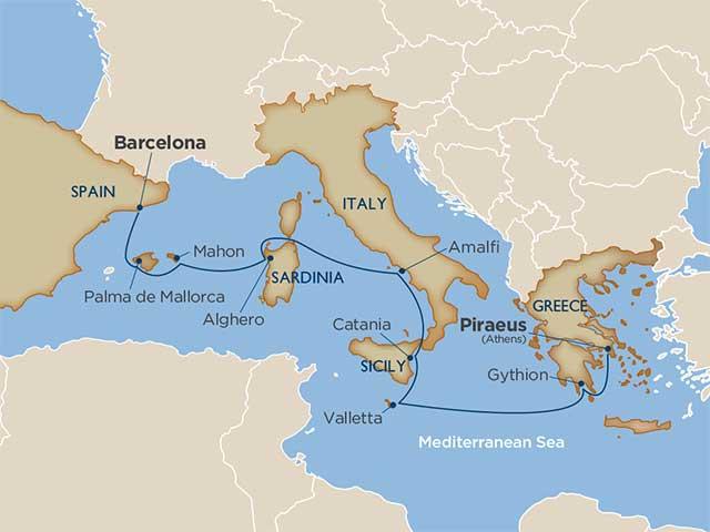 Mediterranean Island Hopping Adventures