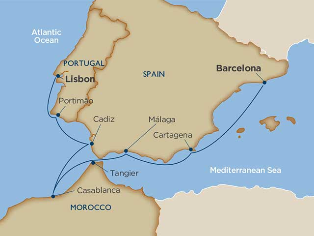 Souks & Sherries: Iberia & Morocco
