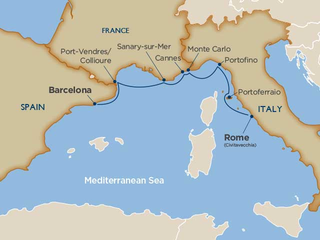 Private Vatican & Italian Riviera Cruise Tour
