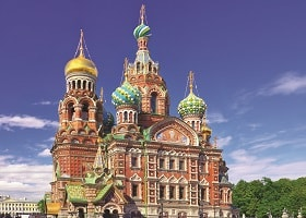 church in St. Petersburg Russia