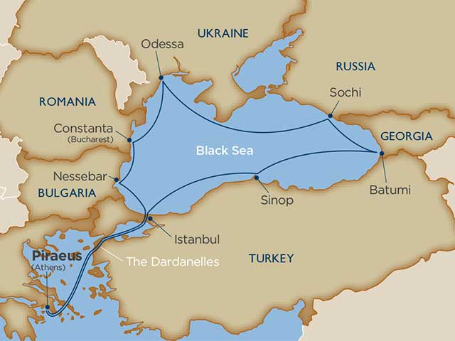 Black Sea Sights & Turkish Delights