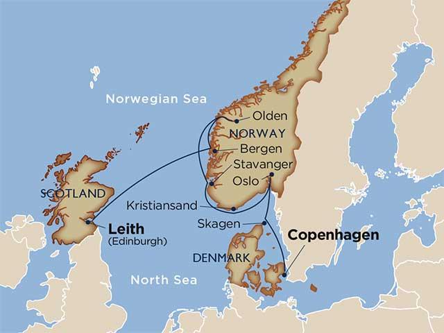 Norwegian Fjord Spectacular