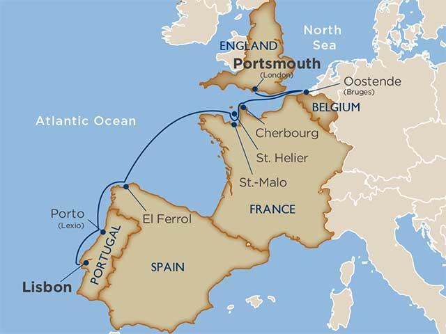 Tapestries, Towers & Tarte Normande: Europe's Atlantic Edge