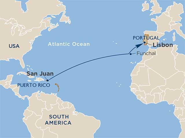 Mangos & Madeira: A Puerto Rico & Portugal Transatlantic Crossing