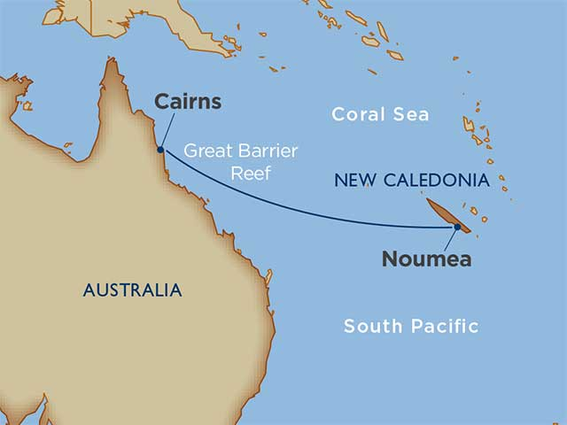 Coral Sea Crossing: New Caledonia to Australia