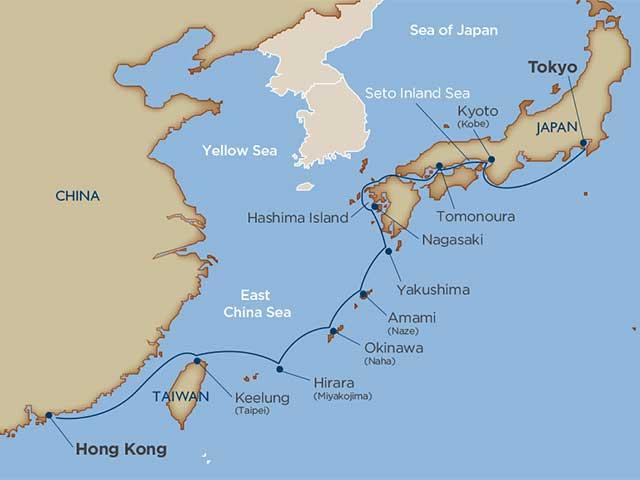 Island Hopping through Japan