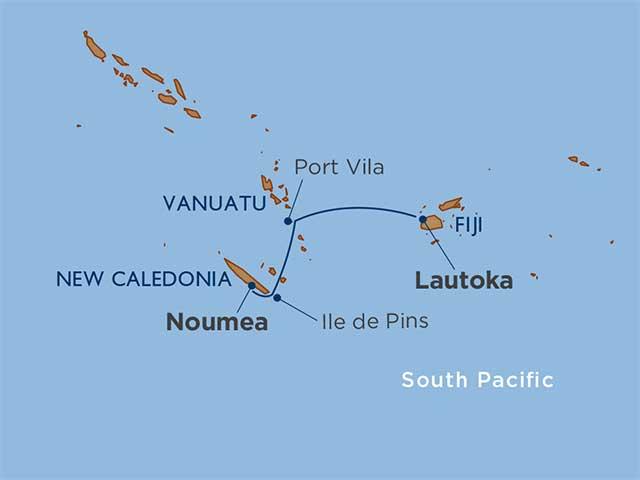 South Pacific Undiscovered: Fiji, Vanuatu & New Caledonia