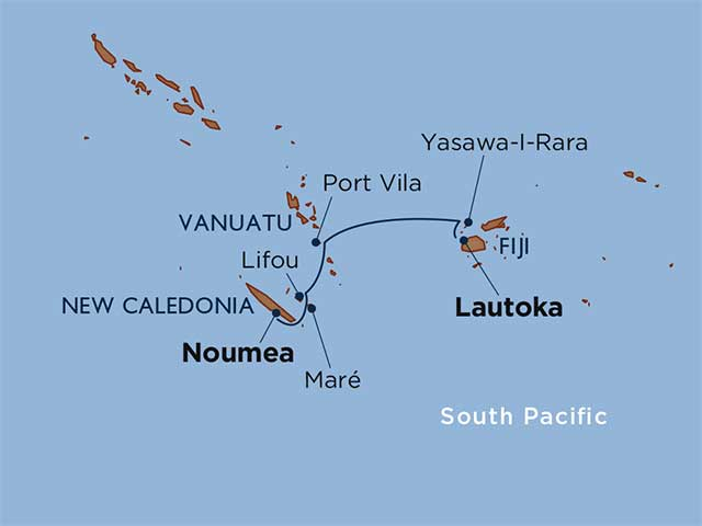 South Pacific Undiscovered: Fiji, Vanuatu & New Caledonia