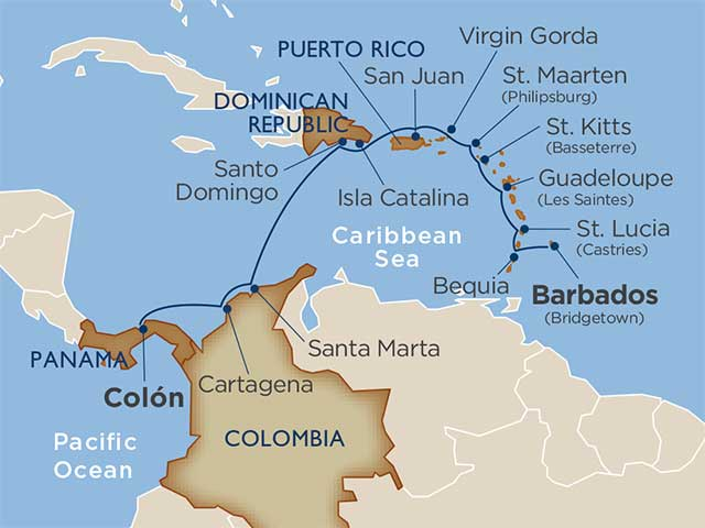 Star Collector: Adventures of the Antilles, Colombia & Panama