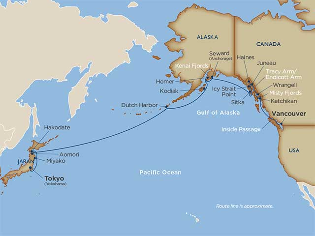 Star Collector: Alaska Crossing from Japan