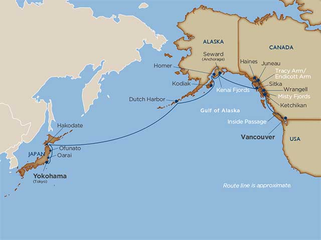 Star Collector: Alaska Crossing to Japan