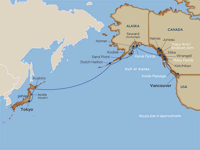 Star Collector: Alaska Crossing to Japan