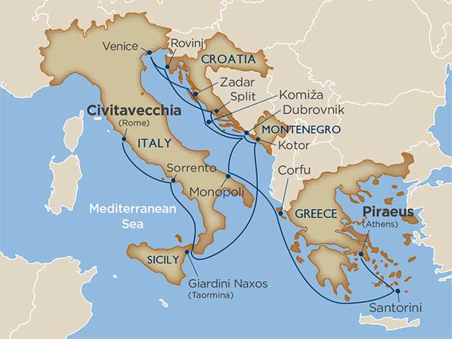 Star Collector: Athens to Rome: Vino, Venice & Volcanoes