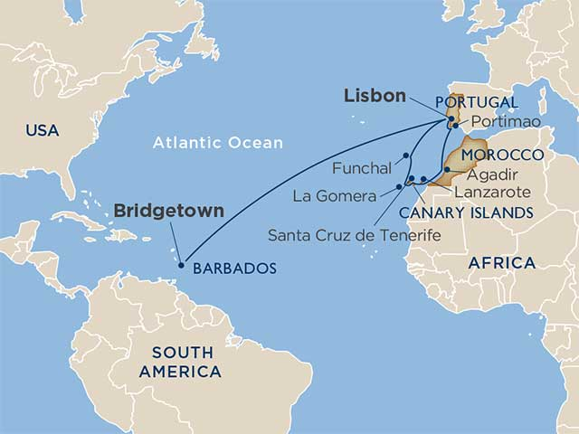 Cruise Hotel & Tours | star collector: atlantic crossing