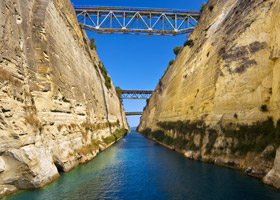 Star Collector: Beauty of the Eastern Mediterranean via the Corinth Canal
