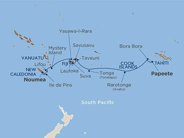 Star Collector: Beyond Polynesia: Society Islands, Fiji, Vanuatu & New Caledonia