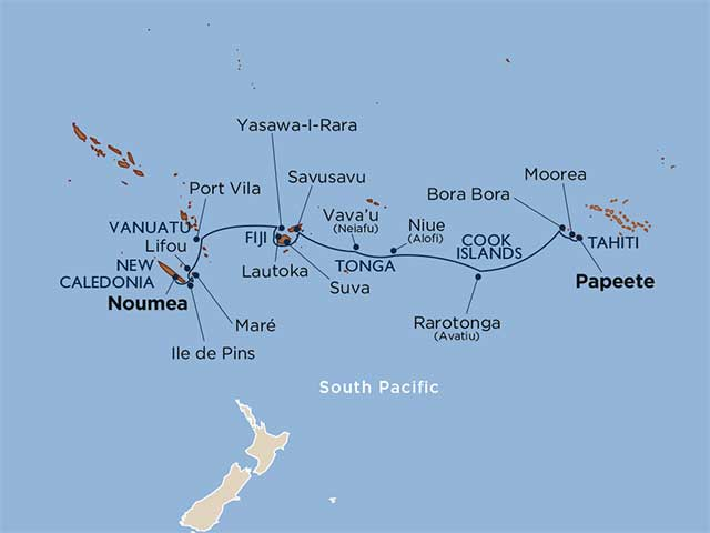 Star Collector: Beyond Polynesia: Society Islands, Fiji, Vanuatu & New Caledonia