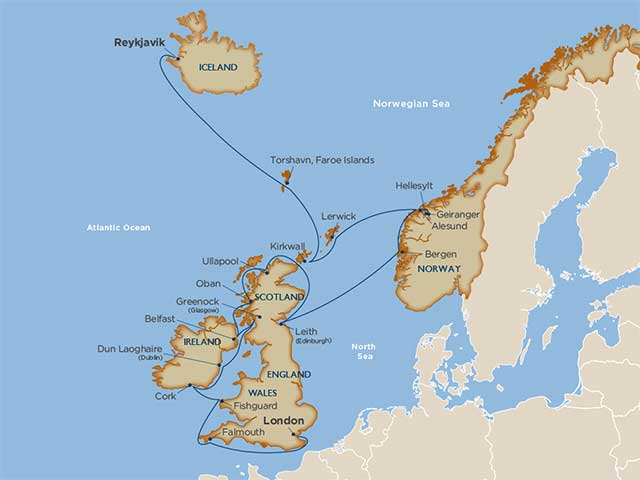 Star Collector: Captivating Coastlines & Fjords of the North Sea
