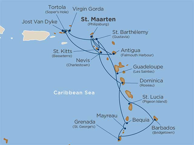 Star Collector: Caribbean Icons cruise