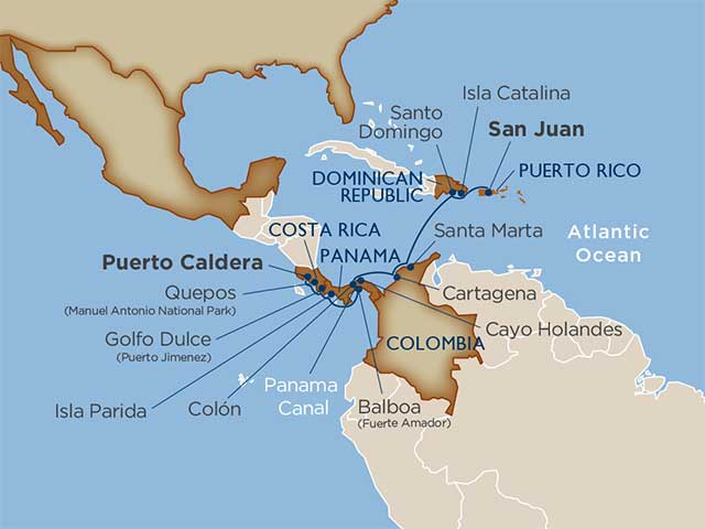 Star Collector: Coffee, Canal & Callaloo: Central America, Colombia & the Caribbean