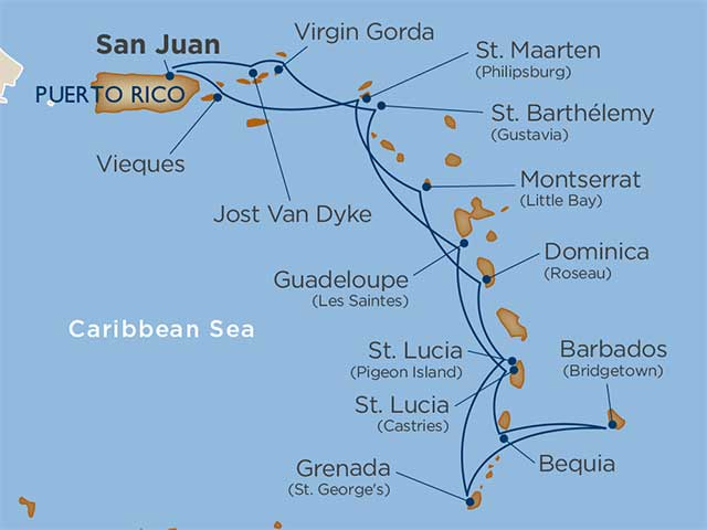 Cruise Itinerary and Ports | star collector: comprehensive ... on in texas map, in asia map, in mexico map, in sweden map, in france map, in georgia map, in germany map, in china map, in usa map, in latin america map,