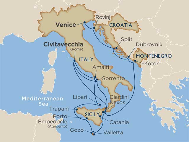 Star Collector: Culture & Charms of Italy & Croatia