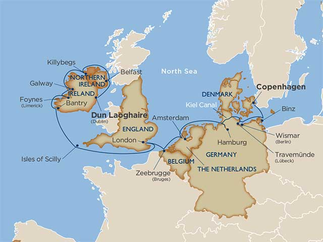 Star Collector: Enchanting Eire & Germany with Kiel Canal