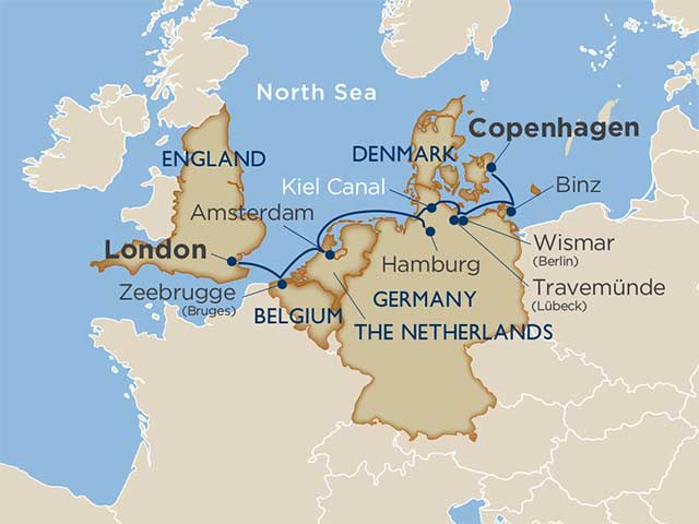 German Gems, Northern Europe Icons via the Kiel Canal