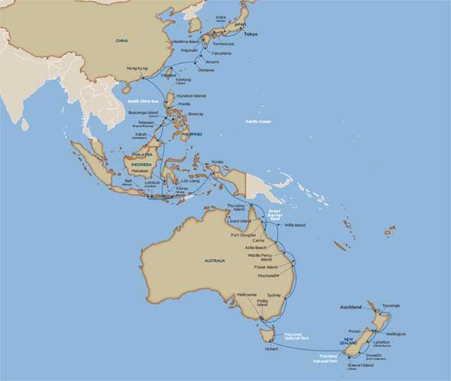 Star Collector: Grand Adventure: Australia, New Zealand & East Asia
