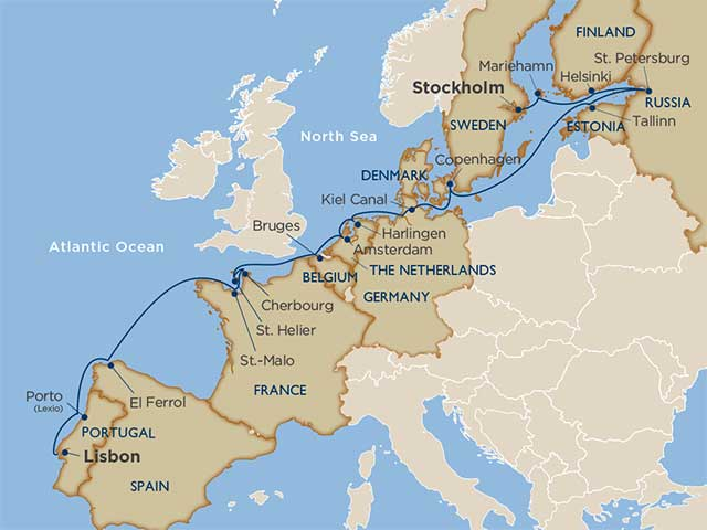 Star Collector: Iberia, Western Europe & the Baltic Revealed